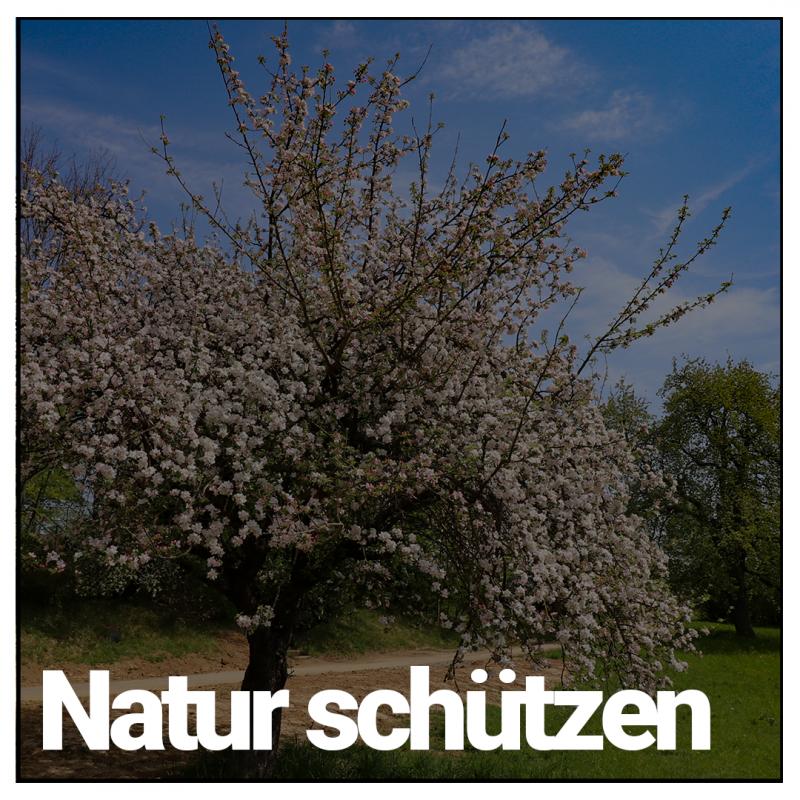Natur schützen